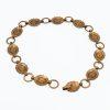 1950s copper concho necklace