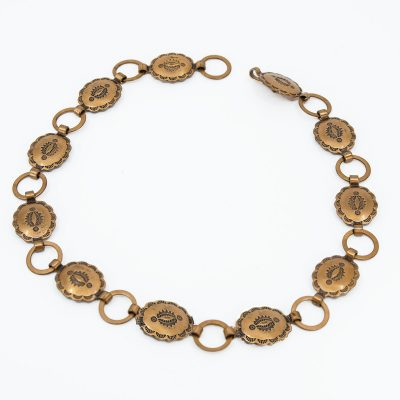 Copper Concho Necklace