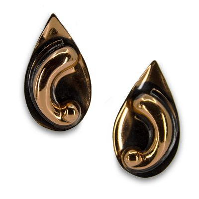 50s copper earrings