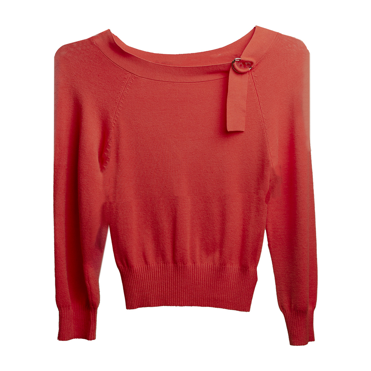 Orange Pullover sweater