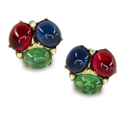 vintage ciner earrings