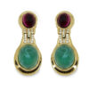 Ciner drop earrings