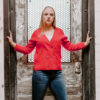 womens double breasted cardigan