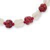 Galalith beads