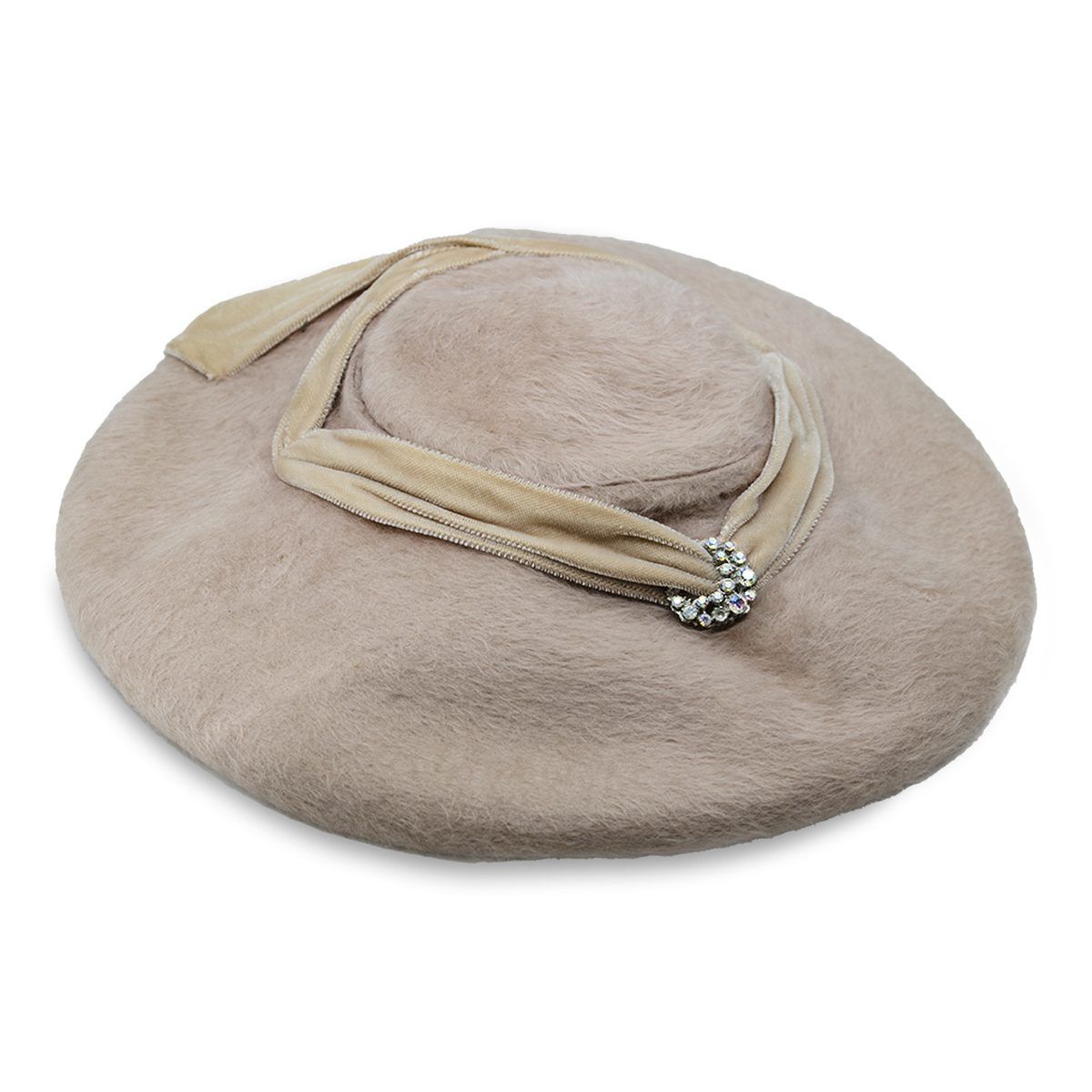 Taupe Platter hat copy