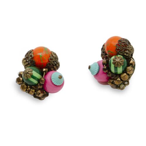 1950s Colorful earrings