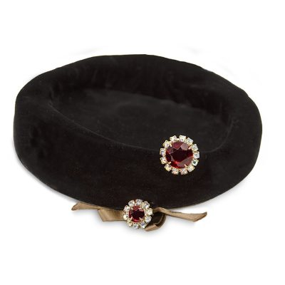 vintage cocktail hat