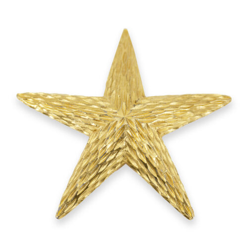 vintage starfish brooch