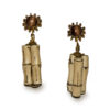 miriam haskell bamboo earrings