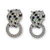 KJL Panther Earrings