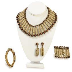 Mriam Haskell jewelry set