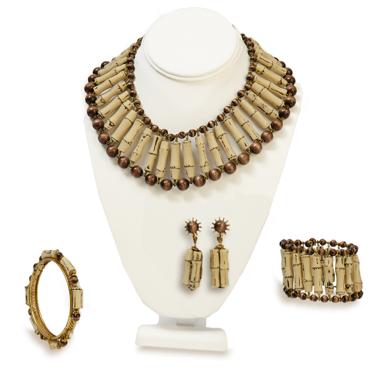 Mriam Haskell jewelry set