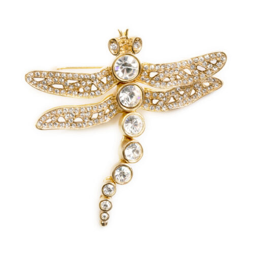 dragonfly pin by Christian Dior