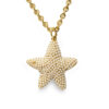 guy laroche pearl starfish necklace