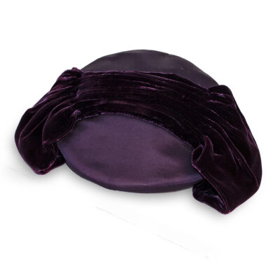 vintage purple hat