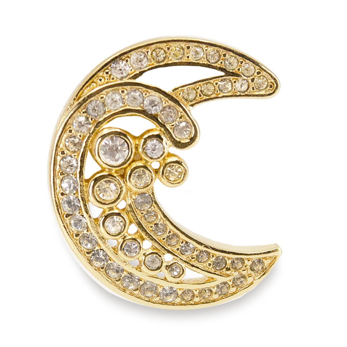Dior Crescent moon pin
