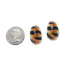 Kenneth Jay Lane tiger earrings