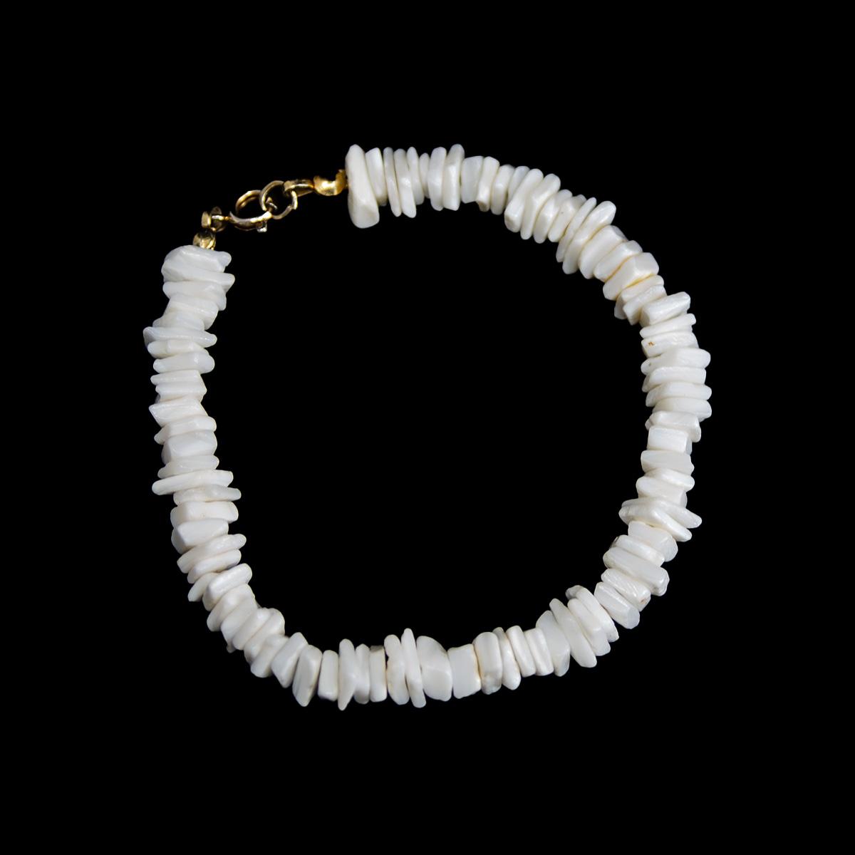 Puka Shell surfer bracelet