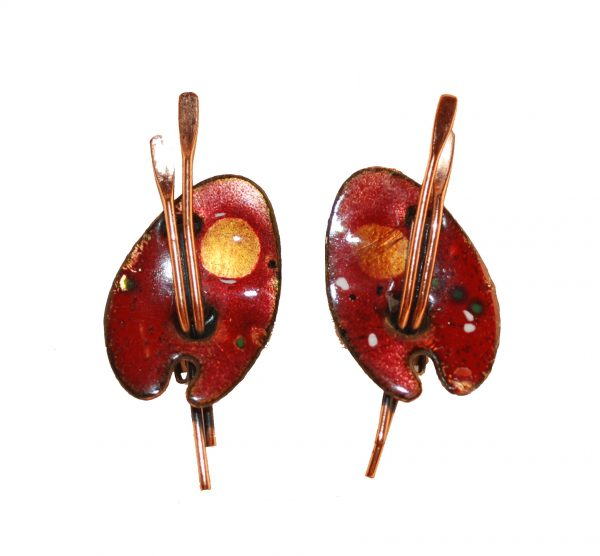 Renior Matisse Copper Earrings