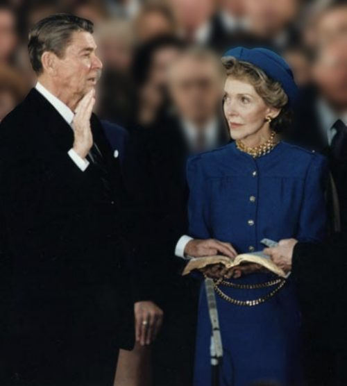 2nd reagan inaguration