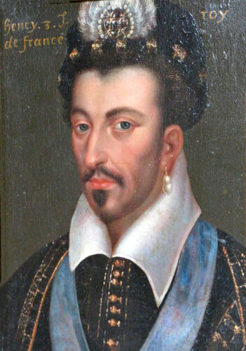 Portrait of Henri III, late 16th century